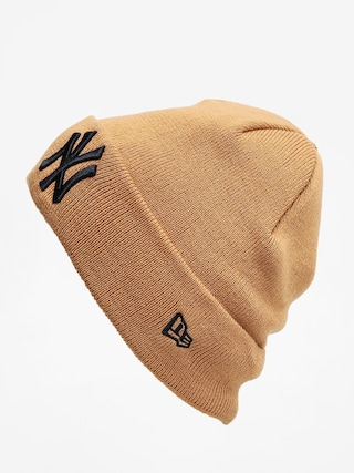 New Era Cuff Knit Nyy Beanie (wheat)