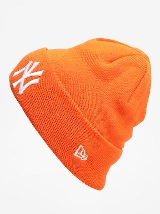 New Era Cuff Knit Nyy Beanie (orange)