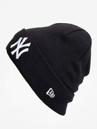 New Era Cuff Knit Nyy Beanie (black)