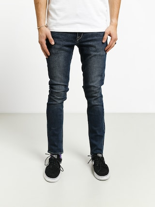 Volcom 2X4 Denim Pants (medium blue wash)