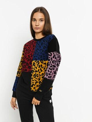 Vans Wyld Tangle Sweatshirt Wmn (leopard patchwork)