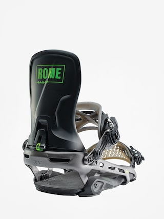 Rome Targa Snowboard bindings (black)