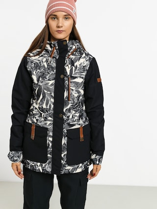 Roxy Andie Snowboard jacket Wmn (hawaiian palm leaf)