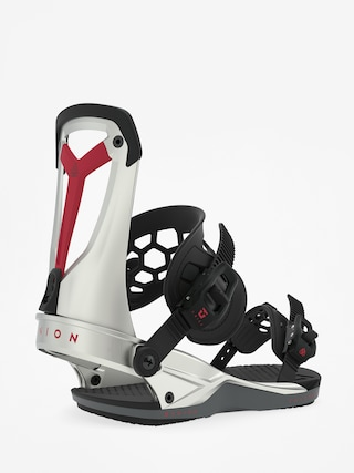 Union Falcor Snowboard bindings (silver plasma)