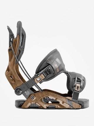 Flow Fuse Snowboard bindings (brown)
