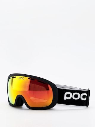POC Fovea Mid Clarity Goggles (uranium black/spektris orange)