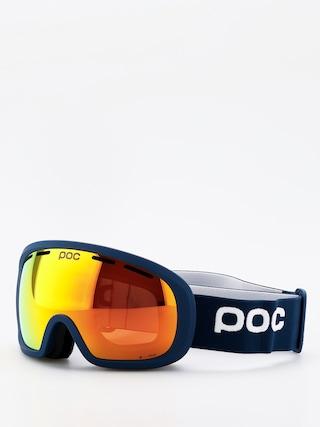 POC Fovea Mid Clarity Goggles (lead blue/spektris orange)