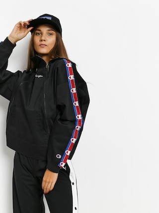 Champion Diagonal Hooded Full Zip ZHD Hoodie Wmn (nbk)