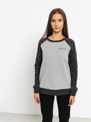 Burton Keeler Crew Sweatshirt Wmn (gryhtr/phntom)