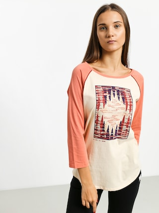 Burton Ashmore Rgln T-shirt Wmn (crmbru/crabap)