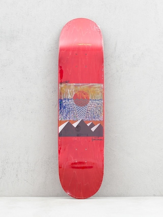 Youth Skateboards Pyramids Deck (red)