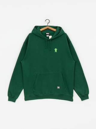 Grizzly Griptape Og Bear Embroidered HD Hoodie (forest/lime)