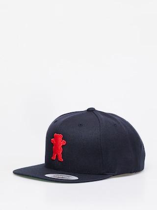 Grizzly Griptape Og Bear ZD Cap (navy/red)