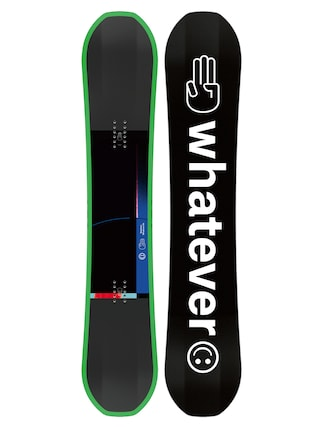 Bataleon Whatever Snowboard (black/white/green)