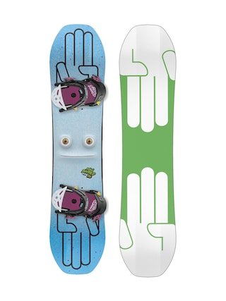Bataleon Minishred Snowboard set (green/white)