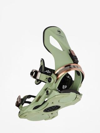 Arbor Cypress Snowboard bindings (green)