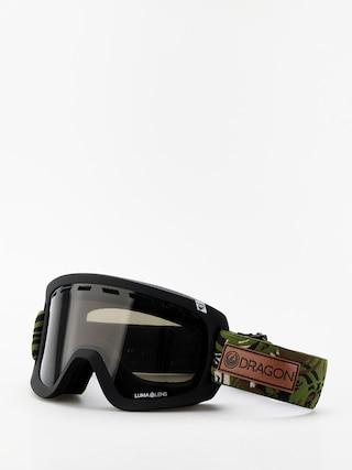 Dragon D1 OTG Goggles (icon camo/lumalens dark smoke/lumalens rose)