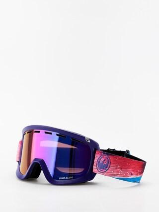 Dragon D1 OTG Goggles (abstract/lumalens purple ion/lumalens amber)
