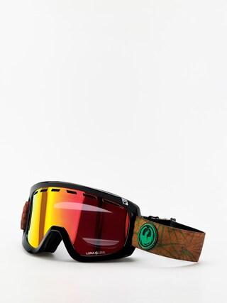 Dragon D1 OTG Goggles (irie/lumalens red ion/lumalens amber)