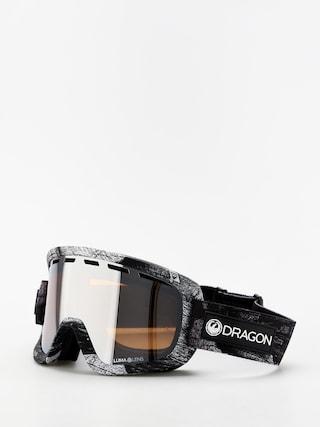 Dragon D1OTG Goggles (torn birch/lumalens silver ion/lumalens flash blue)