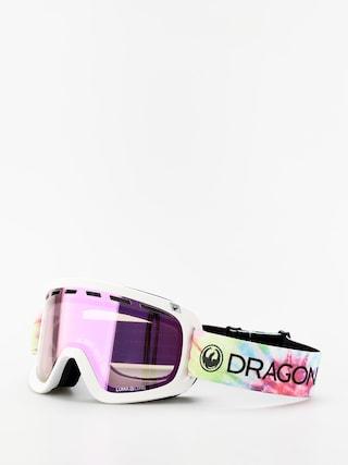 Dragon D1 OTG Goggles (tie dye/lumalens pink ion/lumalens dark smoke)