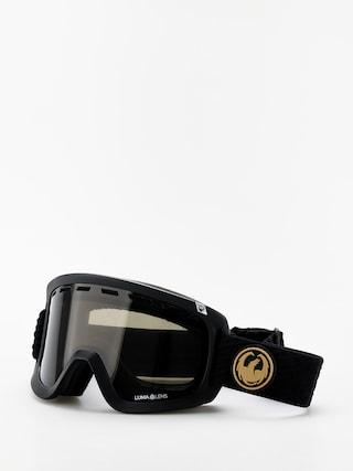 Dragon D1 OTG Goggles (pk gumsole/lumalens dark smoke/lumalens amber)
