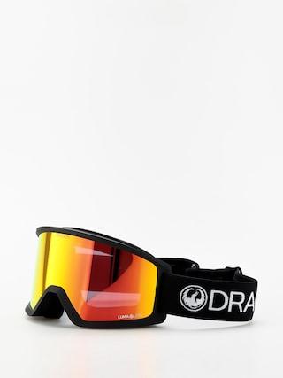 Dragon DX3 Goggles (black/lumalens red ion)
