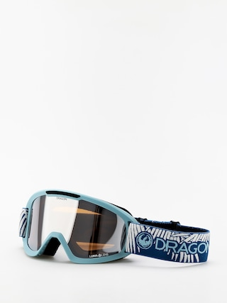 Dragon DX2 Goggles (woven palms/lumalens silver ion/lumalens flash blue)