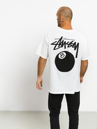 Stussy 8 Ball T-shirt (white)
