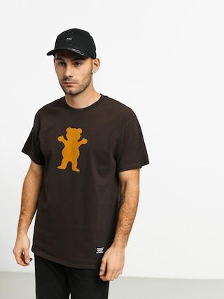 Grizzly Griptape Og Bear T-shirt (chocolate/tan)