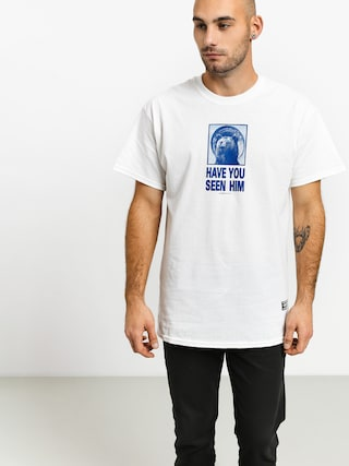 Grizzly Griptape Grizzly Chin T-shirt (white)