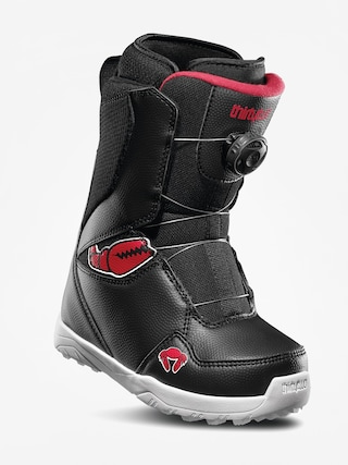 ThirtyTwo Lashed Crab Grab Boa Snowboard boots (black/red/white)