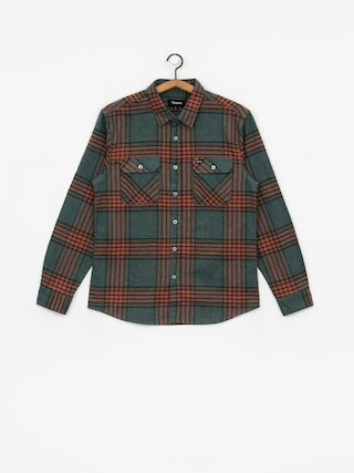 Brixton Bowery Flannel Ls Shirt (blue haze)