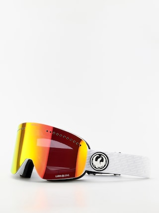 Dragon NFX Goggles (pk white/lumalens red ion/lumalens pink ion)