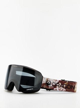 Dragon PXV Goggles (succulents/lumalens dark smoke/lumalens rose)