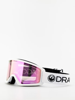 Dragon DX3 Goggles (white/lumalens pink ion)