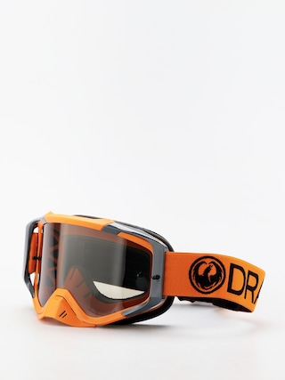 Dragon MXV Cross goggles (max mx orange/smoke clear)