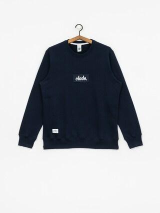 Elade Box Logo Sweatshirt (navy)