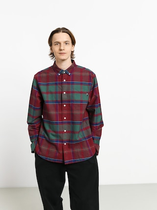 Stussy Classic Oxford Shirt (red plaid)