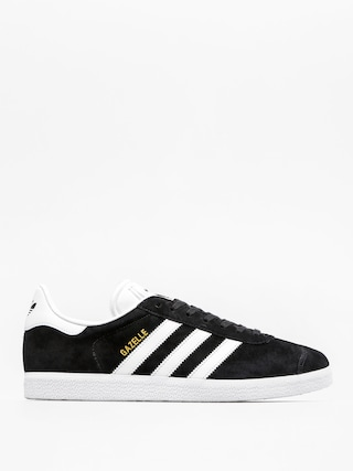 adidas Gazelle Shoes (cblack/white/goldmt)