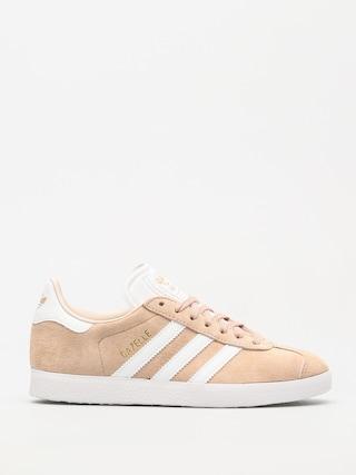 adidas Gazelle Shoes Wmn (ashpea/ftwwht/linen)