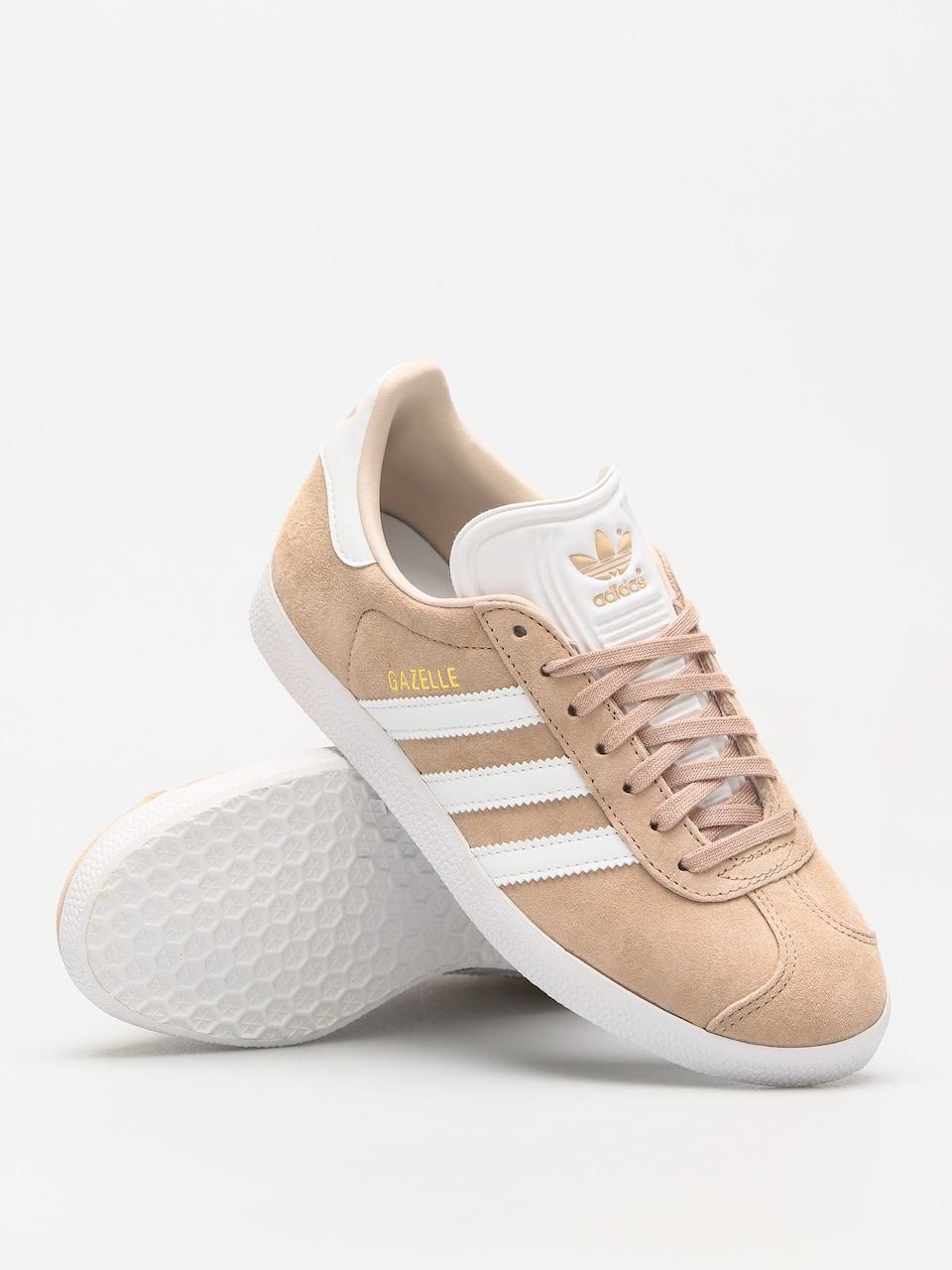 Adidas Gazelle Shoes Wmn Ashpea Ftwwht Linen