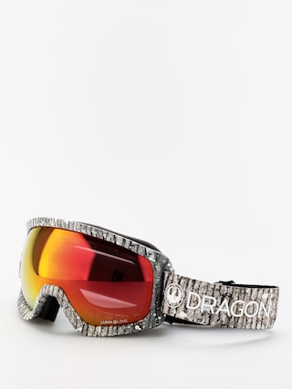 Dragon D3OTG Goggles (blizzard/lumalens red ion/lumalens amber)