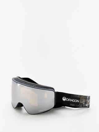Dragon PXV Goggles (galaxy rock/lumalens silver ion/lumalens flash blue)