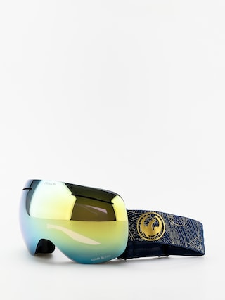 Dragon X1 Goggles (golden palms/lumalens gold ion/lumalens amber)