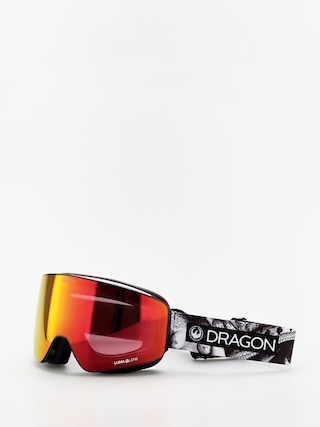 Dragon PXV Goggles (faction/lumalens red ion/lumalens rose)