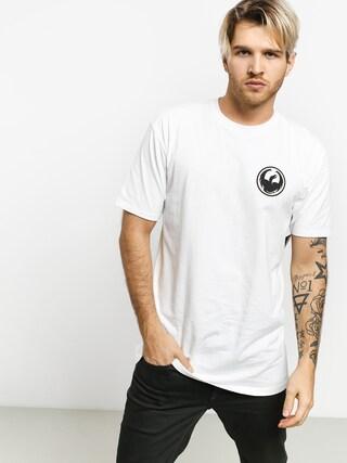 Dragon Icon Staple Line T-shirt (white)