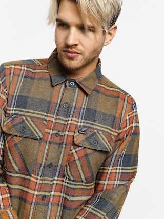 Brixton Bowery Flannel Ls Shirt (sage)