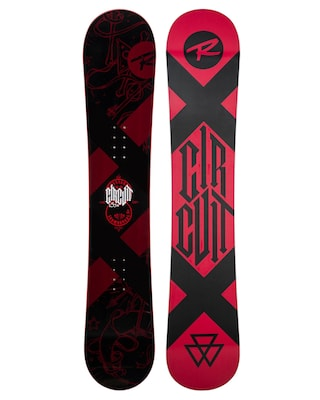 Rossignol Circuit Snowboard (red/black)