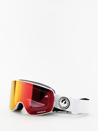 Dragon NFX2 Goggles (pk white/lumalens red ion/lumalens pink ion)